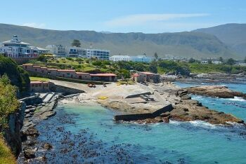 Scenic Old Harbour & Walker Bay, Hermanus, Whale Coast