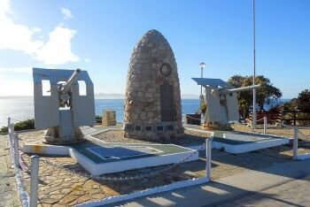 Memorial at Hermanus