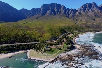 Clarens Drive, between Gordon's Bay and Kleinmond, known as False Bay